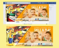 Facebook Cover Contest_Funquest_kw #ChildPlayground #Kuwait
