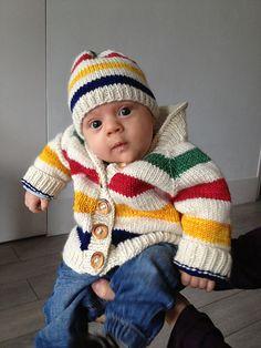 Ravelry: aureliecanada's Hudson Bay hat for Théo