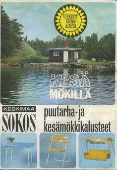 Tuoteluettelo Kesä mökillä Keskimaa Sokos 1966