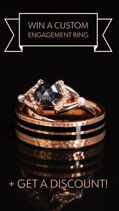 Rose Gold Engagement, Engagement Rings, Jewelry Rings, Jewelery, Beautiful Rings, Ring Designs, Diamond Rings, Wedding Bands, Bling