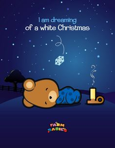Farm Babies / #kawaii #cute #love #quotes #illustration #baby #farm #uplifting #cartoon #bear #christmas #animals