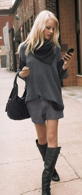 Oversized sweater perfect for fall