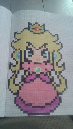 pixel art - Make Up Art Pixel Drawing, Manga Drawing, Pixel Art Mario, Image Pixel Art, Modele Pixel Art, Graph Paper Art, Hama Beads Design, Pixel Pattern, Make Up Art
