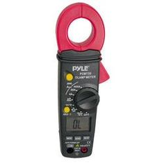 Digital AC/DC Auto-Ranging Clamp Meter (Measures AC/DC Volts and AC Amps)