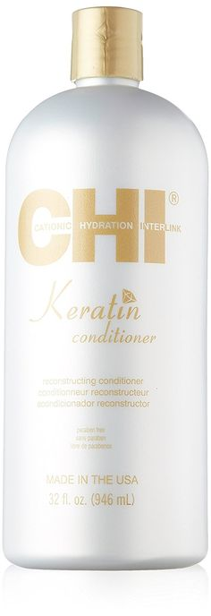 CHI Keratin Conditioner, 32 fl. oz. ** This is an Amazon Affiliate link. You can get more details by clicking on the image.