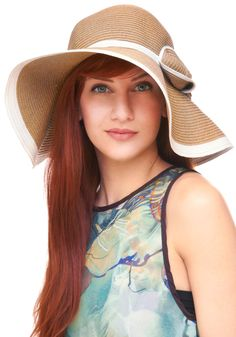 From what I can tell, Marianne's hats were more felt than straw, but it is summer. So to be like her, all you have to do is get a hat like this, and then wear it with everything. #modcloth #styleicon