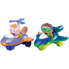 Super Why Super Why and Alpha Pig Flyer Vehicles
