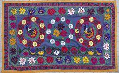 Vintage handmade suzani from Surkhandarya / by SULTANSHOP on Etsy