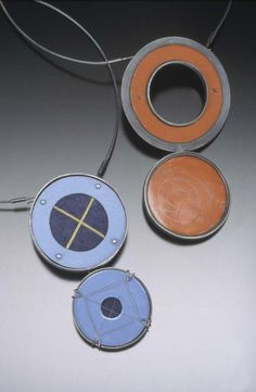 Dual Circles II and III - Art Jewelry Magazine - Online Community, Forums, Blogs, and Photo Galleries