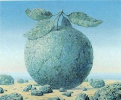 The great table - Rene Magritte,1963