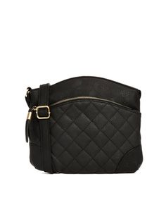 Image 1 of New Look X Body Bag with Quilted Detail