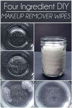Ain't nobody got the budget for expensive makeup remover. Whip up these easy makeup remover wipes in a snap.