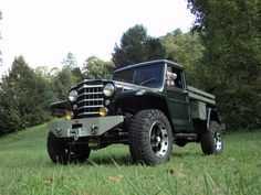1951 Willys Truck - Photo submitted by Edwin Caudill. Old Jeep, Jeep Tj, Jeep Truck, Farm Trucks, 4x4 Trucks, Chevy Trucks, Willis Truck, Willis Pickup, Willys Wagon