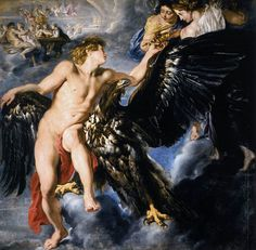 didoofcarthage:  The Abduction of Ganymede by Peter Paul Rubens 1611-1612 oil on canvas Schwarzenberg Palace, Vienna