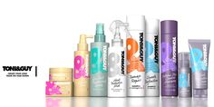 Toni&Guy goes bold with revamped brand design — The Dieline - Branding & Packaging Design