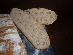 Chlieb z pekáča • recept • bonvivani.sk Bread, Food, Hampers, Essen, Buns, Yemek, Breads, Sandwich Loaf, Eten