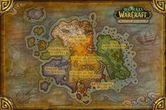 Map warcraft google map pinterest pandaria map from the article mists of pandaria the ever changing state of reputation gumiabroncs Gallery