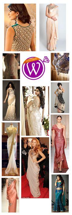 East meets West Wedding Outfit - 21 Inspiring inspirations - www.weddzer.com