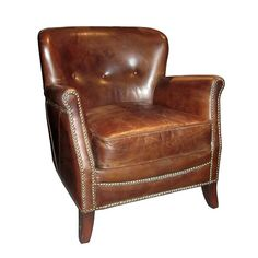 Cambridge **NEW**-Occasional ChairDimensions - x x - Leather Only available as shown Occasional Chairs, Cambridge, Accent Chairs, Armchair, This Or That Questions, Antiques, Leather, Upholstered Chairs, Sofa Chair