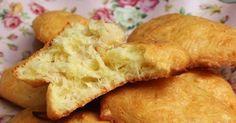 Быстрые сырные печенья из трех ингредиентов