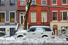 Snow Day in Greenwich Village