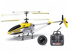 RC Helicopter  MJX T-40C / T640C mit Camera - Gelb - 2.4GHz