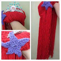 Ariel crochet wig / beanie