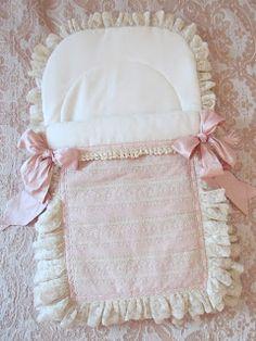 Angela Lace: Old Rose Crib Bedding