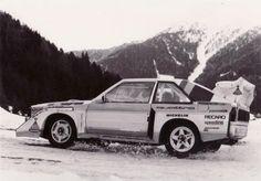 Rohrl Pre Montecarlo rally testing