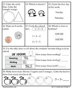First Grade CCSS Math Magic