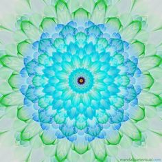 Bright Blossom - Mandala