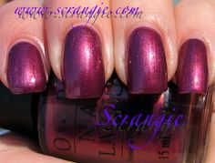OPI   Queen of West Web-erly   NL V16   Valentine's Day: 90210   Holiday 2009