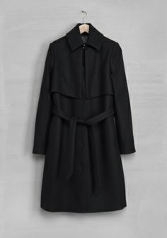 Perfect woolen trench coat by & Other Stories