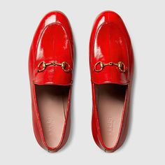 Shop the Gucci Official Website. Browse the latest collections, explore the campaigns and discover our online assortment of clothing and accessories. Orange Shoes, Red Shoes, Sock Shoes, Shoe Boots, Red Flats, Gucci Loafers, Gucci Shoes, Gucci Gucci, Pump Shoes
