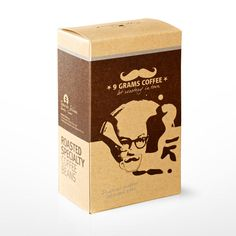 Pack for coffee from Indonesia with valve 250 g roasted beans 9 Grams Coffee