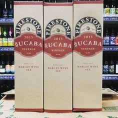 New beer. Sucuba 2015 Vintage Barrel Aged Barley Wine Ale - 13.3% from @firestonewalker in stock now