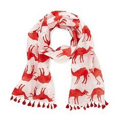I love scarves, and I love animal prints. This is perfect. :)