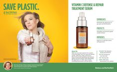 Save Plastic with Melaleuca's Vitamin C Defense & Repair Treatment Serum from Sei Bella – skin care treatment helps diminish appearance of age spots and discoloration Melaluca Products, Simply Home, Wellness Company, Skin Care Treatments, Melaleuca, Vitamin C, Counting, Serum, Online Shopping