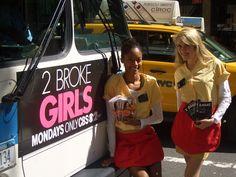 CBS 2 Broke Girls brand ambassadors