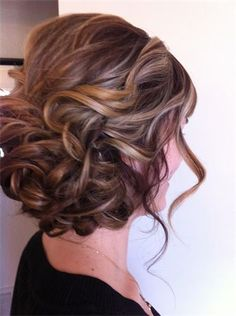 Pretty wedding hair?