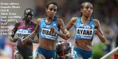 Oromo athletes, Genzebe Dibaba (1st) & Almaz Ayana (2nd), won 5000m Paris AREVA IAAF DIAMOND LEAGUE. 4 July 2015 Kenyan Mercy Cherono (3rd)and Viola Kibiwot 4th. Oromians Senbere Teferi (5th) and Geleta Burka (6th)