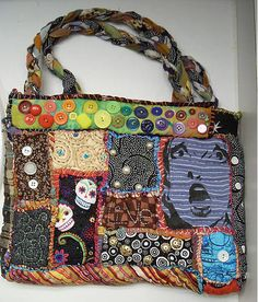 Teesha Moore style bag made by sheepBlue.  She makes the most AMAZING bags!!