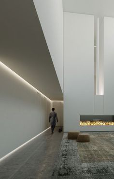 Modern recessed lighting, also known as ambient lighting, is a beautiful design solution for modern, sleek spaces that require less […] Corridor Lighting, Cove Lighting, Indirect Lighting, Linear Lighting, Strip Lighting, Interior Lighting, Outdoor Lighting, Lighting Design, Light Architecture