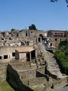 Pompeii.  One of my Bucket List places to visit.