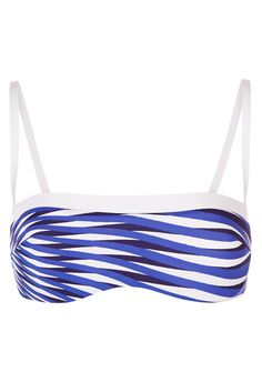 La Perla Op-Art Bandeau Bikini Top
