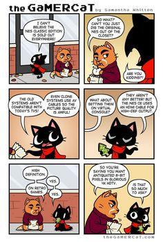 the GaMERCaT :: Short Supply   Tapastic Comics - image 1