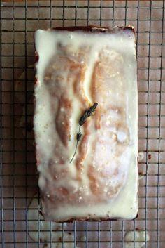 lemon lavender cake.