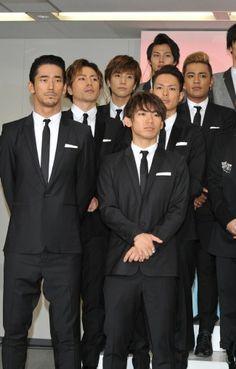 Imaichi Ryuji & Tosaka Hiroomi &  Iwata Takanori & Elly & Naoto & Naoki Sandaime J Soul Brothers