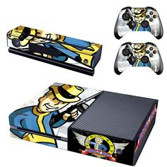 Fallout vault boy console xbox one skin sticker - Decal Design