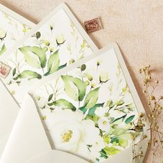 Botanical patterned envelope liner made these invitations especially beautiful and timeless. Wedding Looks, Wedding Tips, Wedding Styles, Wedding Venues, Melbourne Wedding, Sydney Wedding, Wedding Invitations Online, Stationery Design, Envelope Liners